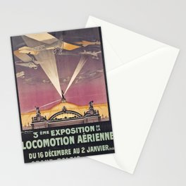 cartellone Locomotion Aerienne Stationery Cards