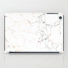 Marbled Cream 2 iPad Case