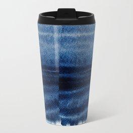 Blue Escape Watercolor Travel Mug