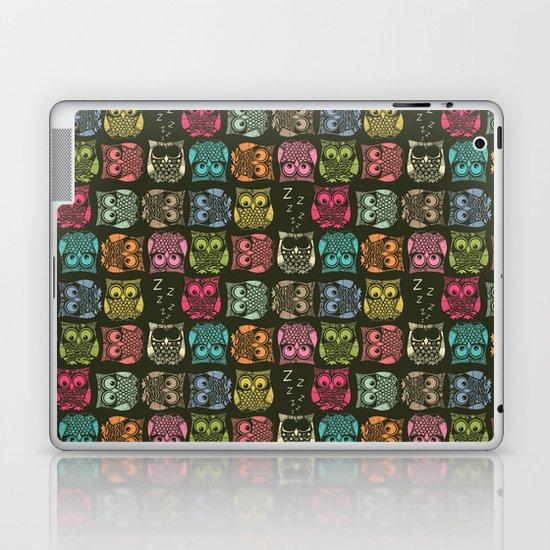 sherbet owls Laptop & iPad Skin