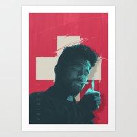 preacher - tv series Art Print
