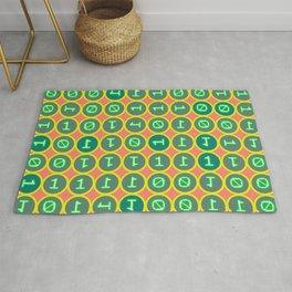 Bits pattern Rug