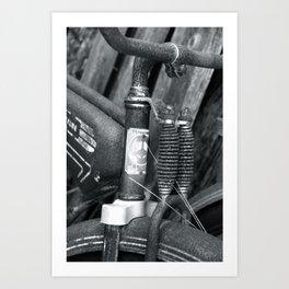 Firestone Bicycle Art Print