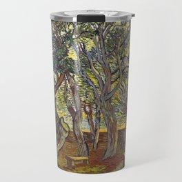 The garden of Saint Paul's Hospital - Van Gogh Travel Mug