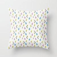 jem Throw Pillows featuring Jem 1 by Kukka