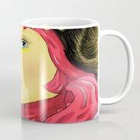superheroes Mugs featuring Superheroes SF by Vasco Vicente