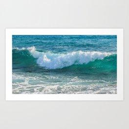 Awesome Wave Art Print