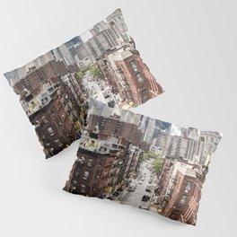 USA Photography - Chinatown In New York City Pillow Sham
