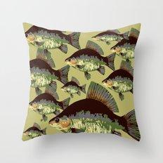 Sun Fish Throw Pillow