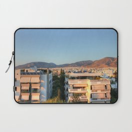 Evening Light Over Athens Laptop Sleeve
