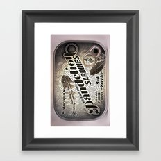 Sardine 2 Framed Art Print