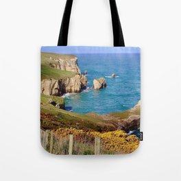 Tunnel Beach Tote Bag