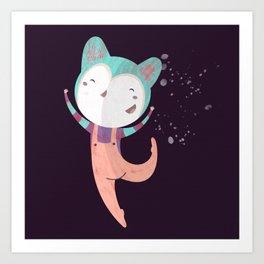 Dance Dreams (Purple) Art Print