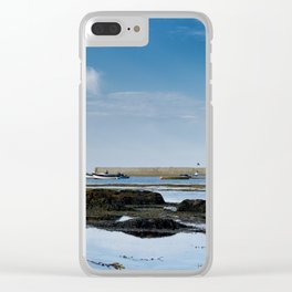 Pointe de Penmarch Clear iPhone Case
