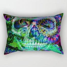 Funky skull ii Rectangular Pillow
