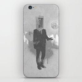 Phone Head iPhone Skin