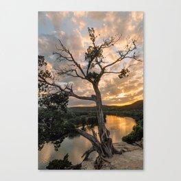 Sunset at 360 Bridge Overlook Canvas Print