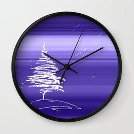 IN.MO - XMAS - SKY Wall Clock