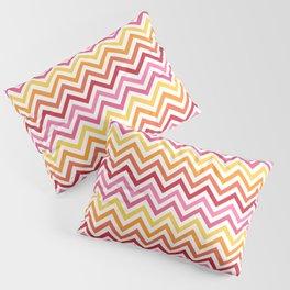 Rainbow Chevron #1 Pillow Sham