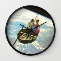 lovers Wall Clocks featuring Lovers by flirst