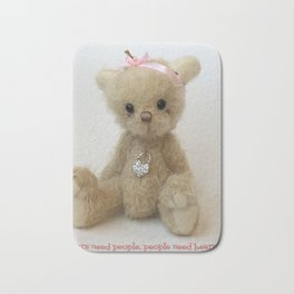 Chicago Teddy bear quote Bath Mat