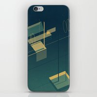 pool iPhone & iPod Skins featuring Pool by Maxime Chillemi