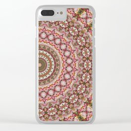 Geometric Mandala 3 Clear iPhone Case