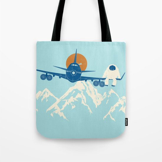 Hitchin' a Ride Tote Bag