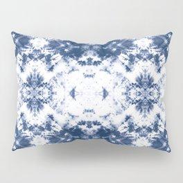 Shibori Tie Dye 3 Indigo Blue Pillow Sham