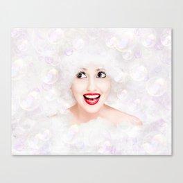 It's Bubble Time! Canvas Print