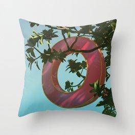 Day 0309 /// Littletired Throw Pillow