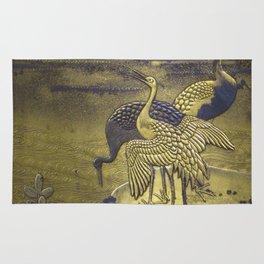 Golden Birds Rug