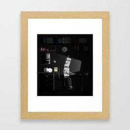 All Nighter Framed Art Print
