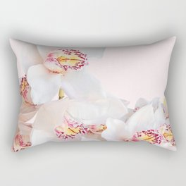 Flowers  Photography   Orchids   Pink Flowers   Floral Rectangular Pillow