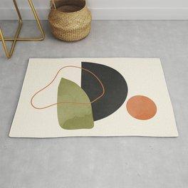 abstract minimal 64 Rug