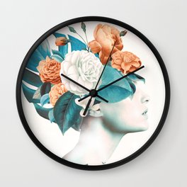 Floral beauty 2a Wall Clock