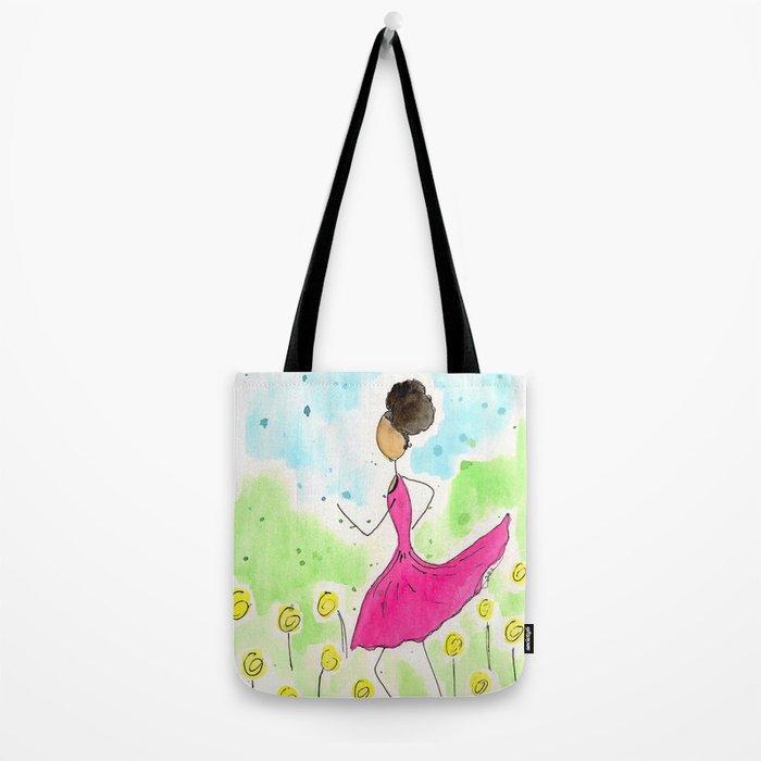Tia Running So Happy Tote Bag
