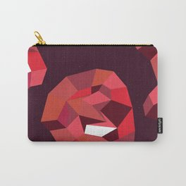 Geometric Reds  Carry-All Pouch