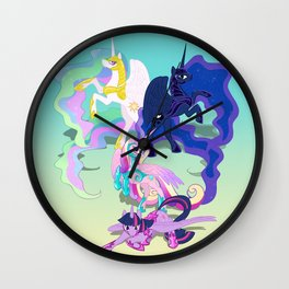 Battle Princess Wall Clock
