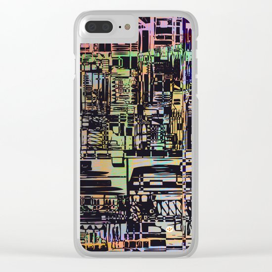 Urban Vibes / Density Series Clear iPhone Case
