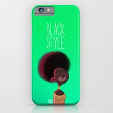 Black Woman Slim Case iPhone 6s
