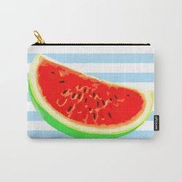 Watermelon, Summer Poster, Summer T-Shirt, Summer colors, blue Carry-All Pouch