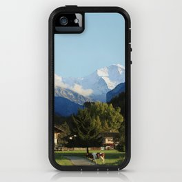 Swiss Cow Crossing iPhone Case