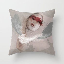 Little wings Throw Pillow