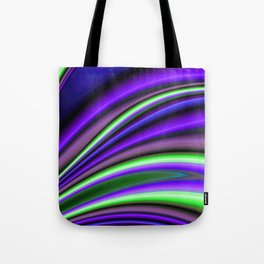 Abstract Fractal Colorways 01PL Tote Bag