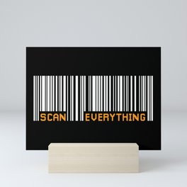 Scan Everything Amazonian Barcode - Party Code Mini Art Print