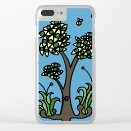 Eye Tree Clear iPhone Case