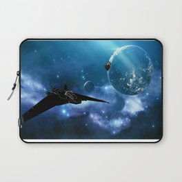 Ships in Space Laptop Sleeve
