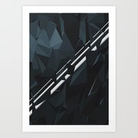 milky way Art Prints featuring Milky Way by Elvijs Pūce