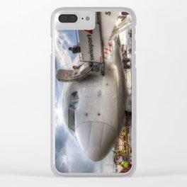Pegasus Boeing 737 Clear iPhone Case